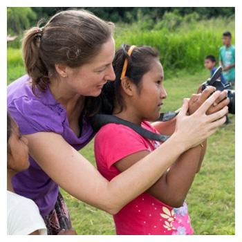 Bei NPH leben und arbeiten viele Freiwillige in unseren NPH-Kinderdörfern.