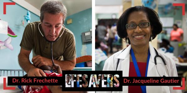 Dr. Rick Frechette und Dr. Jacqueline Gautier, Mitglieder des LifeSavers-Teams im Kinderkrankenhaus St. Damien berichten aus dem chaotischen Haiti.