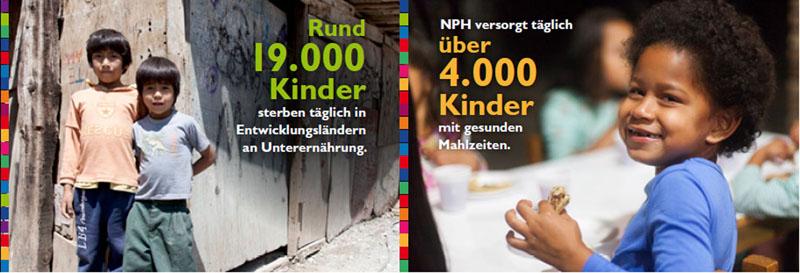 Das NPH-Ernährungsprogramm hilft Kinder aus der Mangel- bzw. Unterernährung.