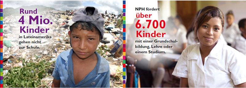 NPH hilft seit über 60 Jahren mit nachhaltigen Bildungsprogrammen.