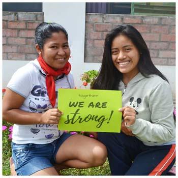 Spenden Sie bitte jetzt, damit Frauen in Lateinamerika nicht mehr länger unterdrückt werden.