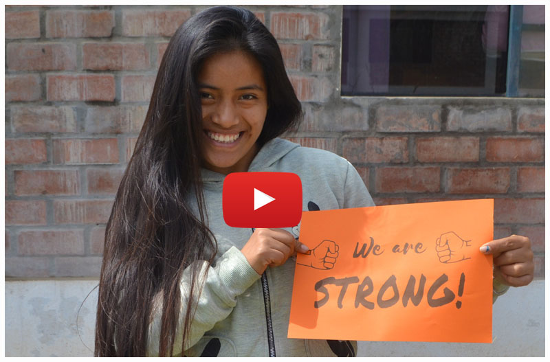 "Über Chicas Poderosas: ""We are strong!"""